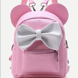 Handbags - Mini Pink Backpack 🎀